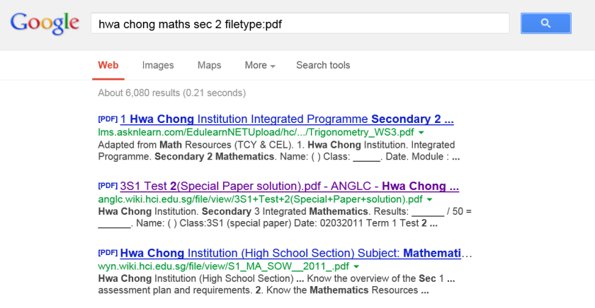 google-hwa-chong-maths-tuition