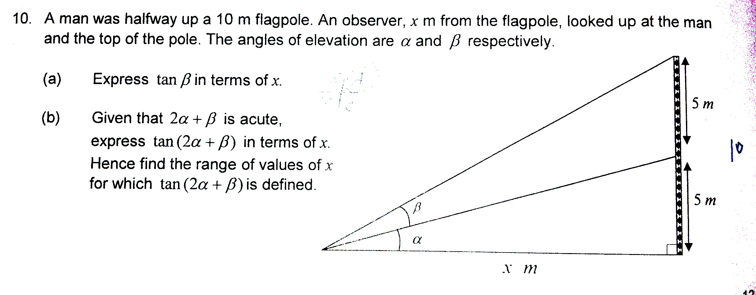 Challenging Trigonometry Question (ACS(I) Sec 3) | Singapore Maths