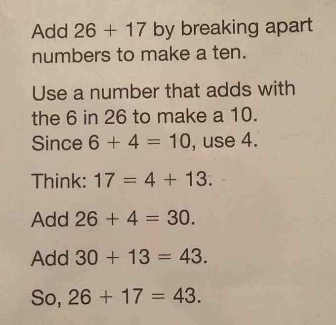 common core addition