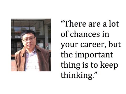 keep thinking