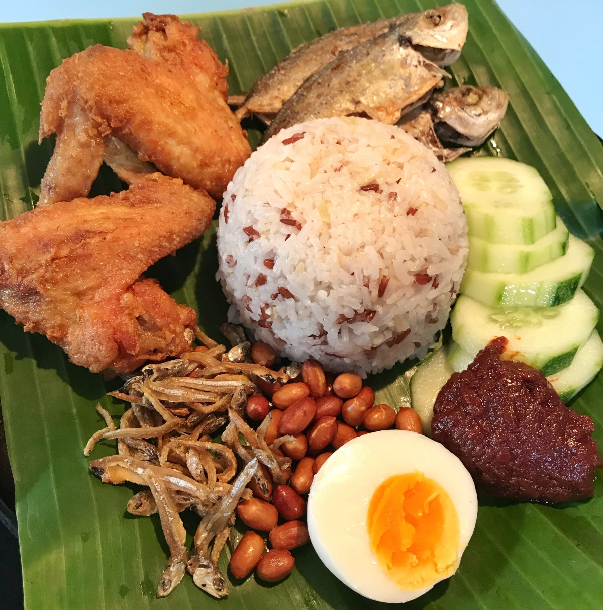 My First Try On NasiLemak